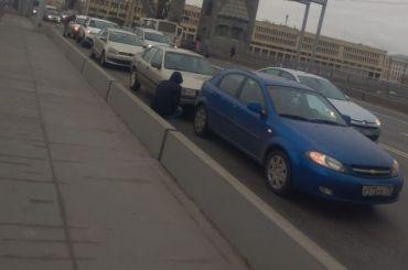 Пять автомобилей попали ваварию ипревратились в«паровозик»