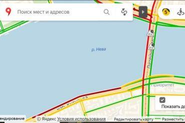 Движение вПетербурге начали перекрывать из-за приезда Путина