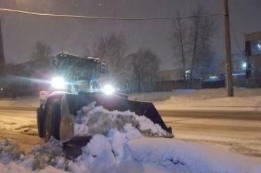 Петербург доконца ноября получит 200 снегоуборочных машин