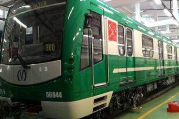 Петербургский метрополитен получил еще один поезд проекта «НеВа»