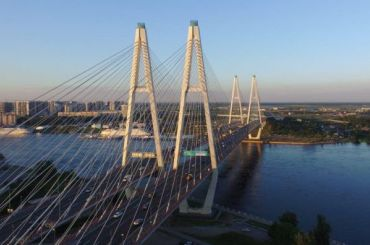 Вантовый мост вПетербурге полностью открыли после ремонта