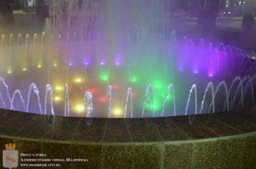 ВКурганской области запустили фонтан в-11 градусов