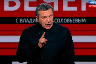 НаУкраине наВладимира Соловьева завели два уголовных дела