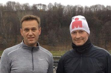 Навальный иРойзман устроили совместную пробежку поМоскве