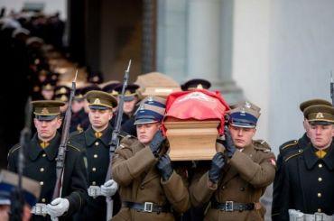ВВильнюсе перезахоранивают останки Калиновского