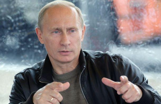 Путину построили бункер вПетербурге