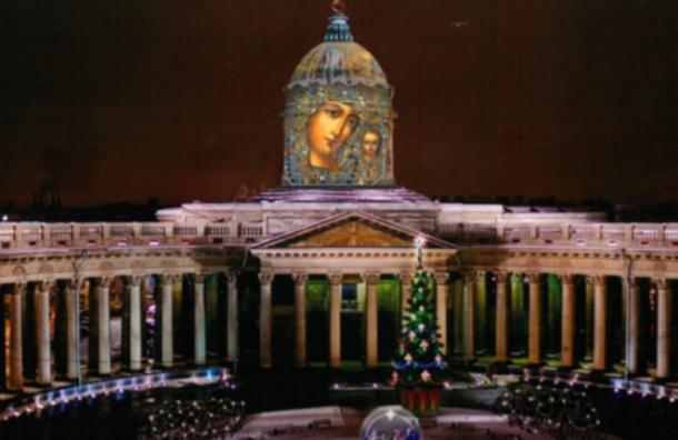 Казанский собор украсят кНовому году за6,5 млн рублей