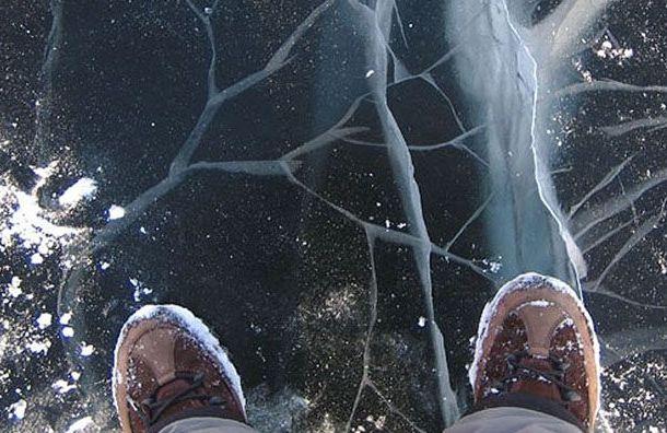Две женщины провалились под лед воВсеволожском районе