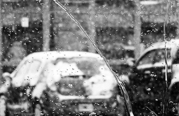 Петербург всреду накроют мокрый снег идождь