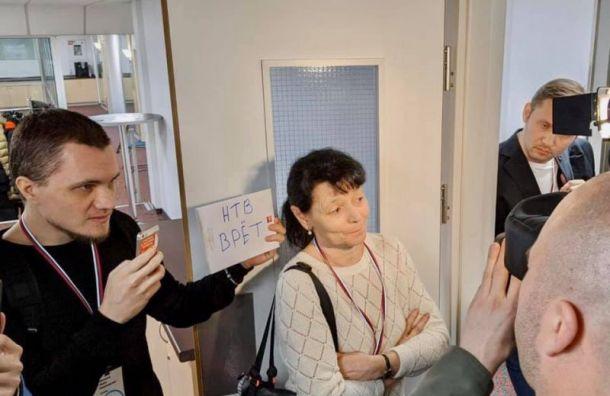 Активист Павел Чупрунов недал журналистам НТВ снять репортаж