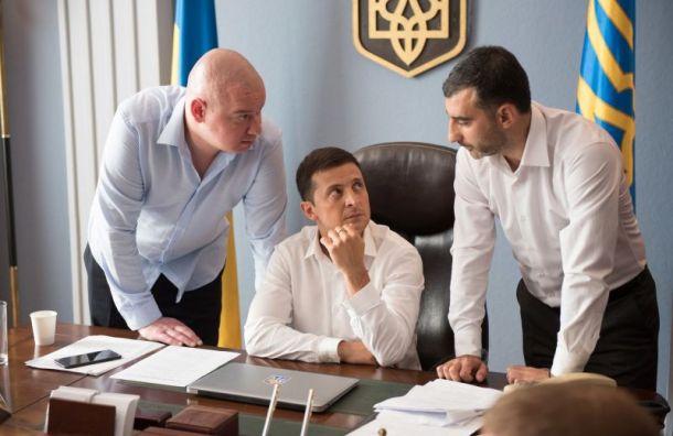 ТНТ вырезал шутку про часы Путина изсериала сЗеленским