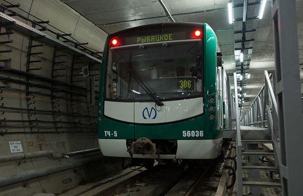 Петербургское метро досрочно получило еще один поезд проекта «НеВа»
