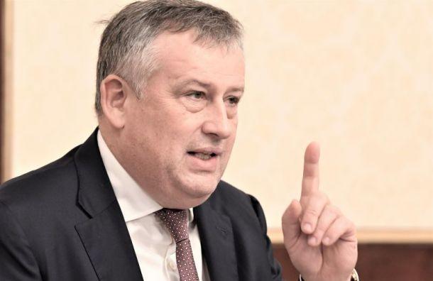 Дрозденко похудел до100кг ивыполнил обещание