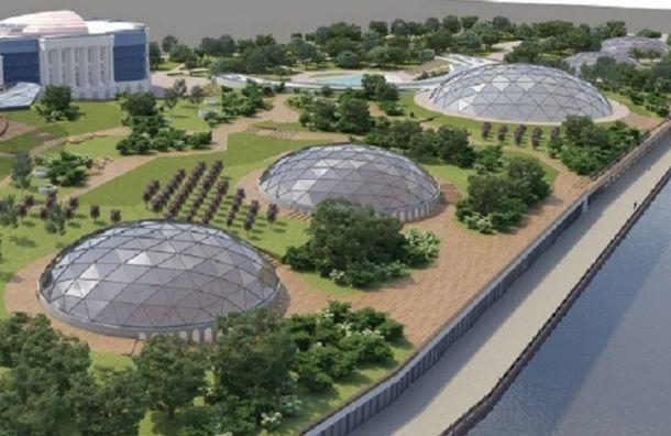 Судебный квартал досих пор строится наместе парка «Тучков буян»