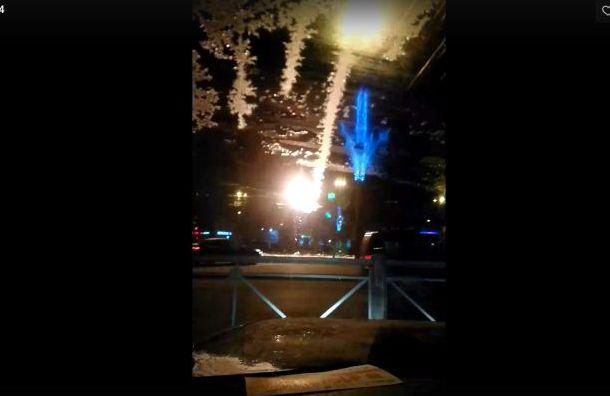 Трамвайные провода горят на«Новочеркасской»
