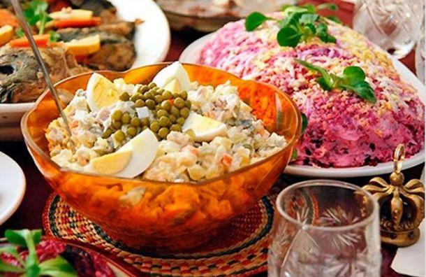 Новогодний стол обойдется петербуржцу всреднем в464 рубля
