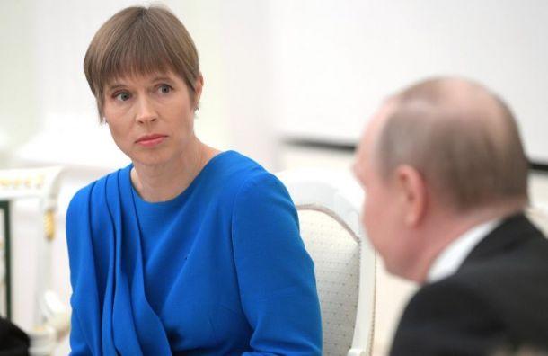Президент Эстонии извинилась заоскорбления нового премьера Финляндии