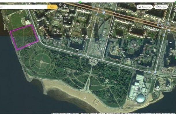 Экогалерея откусит часть парка 300-летия
