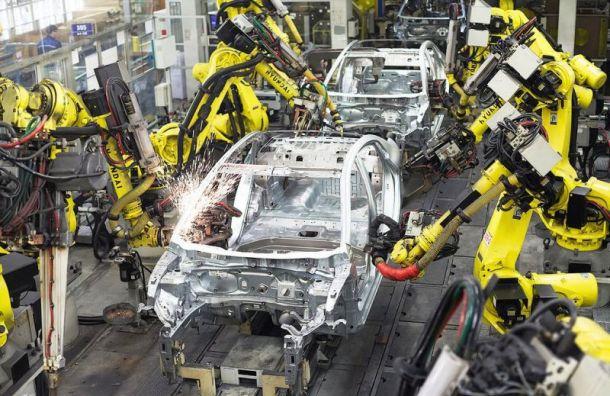 Производство автомобилей вПетербурге снизилось на17%