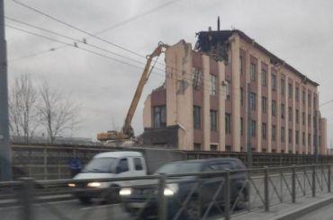 Завод «Светлана» беспощадно сносят вПетербурге