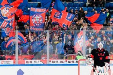 Серия из12 побед СКА прервалась на«Газпром Арене»