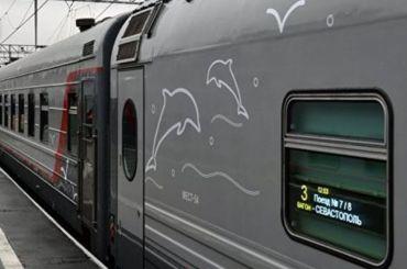 Первый пассажирский поезд изПетербурга доехал доСевастополя