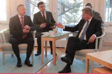 Товарооборот между Петербургом иФинляндией сначала года вырос на21%
