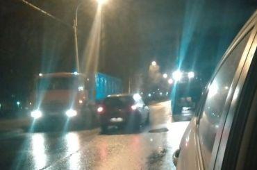 Петербуржцы удивились снегоуборочной технике в городе в «плюс» 5
