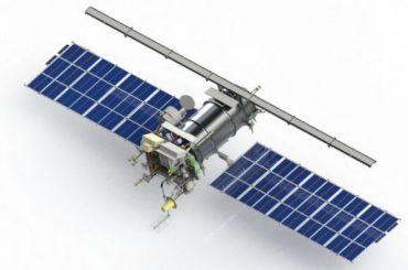 Метеорит врезался вроссийский спутник