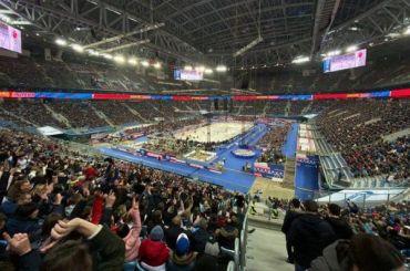 Матч СКА— ЦСКА на«Газпром Арене» посетили 61810 зрителей