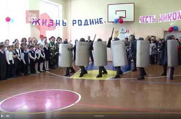 Ургант прокомментировал выступление спецназа перед школьниками