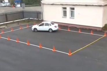 ГИБДД исключит изэкзаменов направа «площадку»