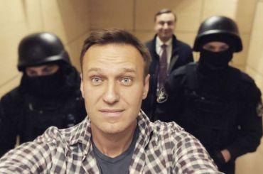 Силовики задержали Навального вофисе ФБК