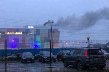 ТРЦ «Монпасье» эвакуируют из-за задымления