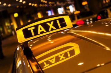 Митингующие вПетербурге таксисты требуют контроля над агрегаторами