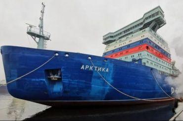 Устойчивость атомного ледокола «Арктика» проверили наБалтийском заводе