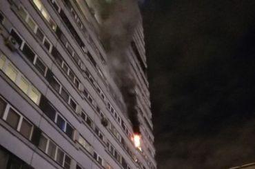 Пятерых госпитализировали после пожара вквартире Московского района