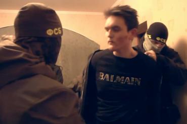 ФСБ опубликовала видео задержания готовивших теракты вПетербурге