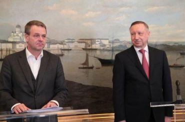 Беглов навстрече смэром Хельсинки пообещал развивать городскую среду