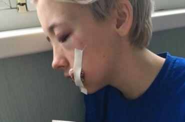 Семеро мужчин избили девушку наЛиговском проспекте
