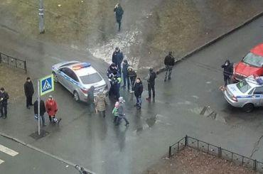 Женщину сколяской сбили наЛенской улице
