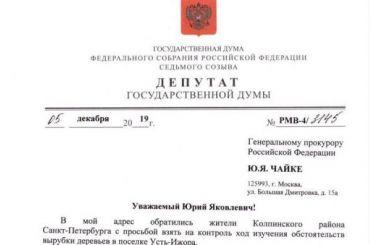 Депутат Госдумы возмутился бетонированием берега Невы