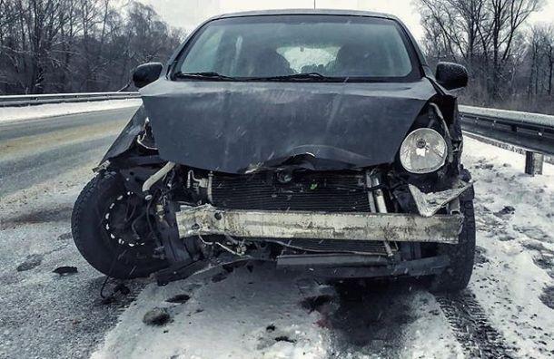 Вокалист Animal Джаz разбил машину вУльяновской области