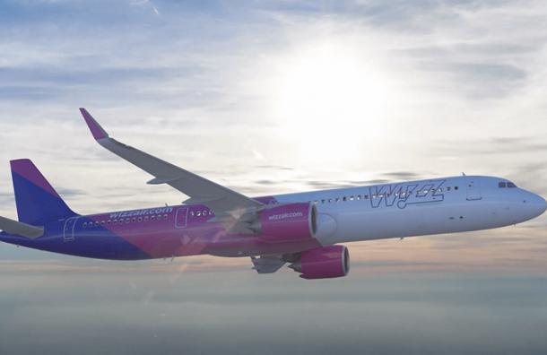 Wizz Air запустит новые рейсы изПетербурга вчетыре европейских города