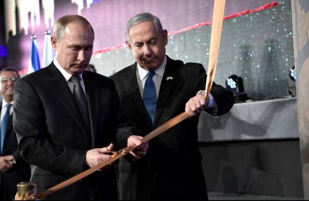 Путин прослезился наоткрытии памятника блокадникам Ленинграда вИзраиле