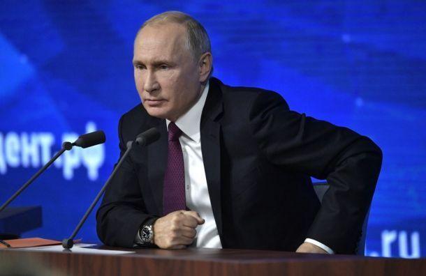 Путин прокомментировал нахождение ЧВК «Вагнера» вЛивии