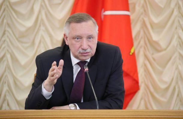 Беглов решил разработать план действий после послания президента