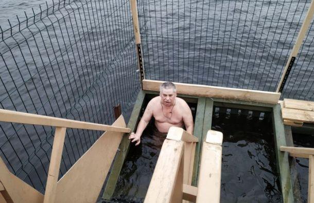 Более 25 тысяч петербуржцев окунулись вкрещенские купели