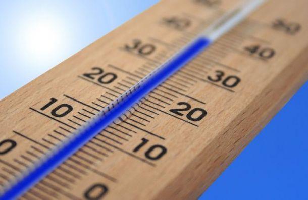 Петербург может побить два температурных рекорда наэтой неделе