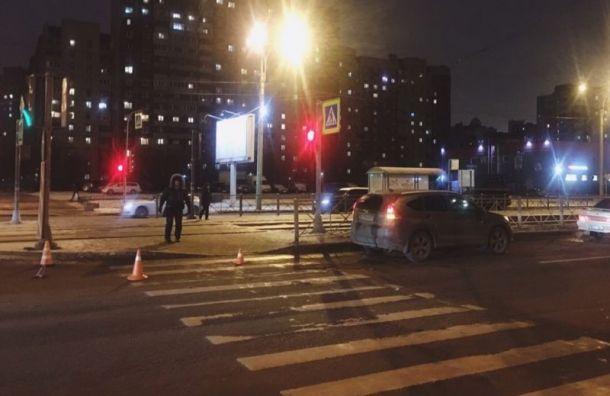ВПриморском районе водитель задавил пожилую женщину иребенка